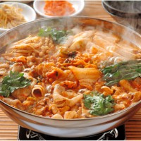 豚キムチ鍋セット調理例